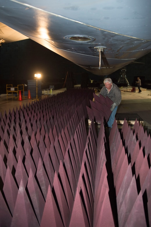 Benefield Anechoic Facility hosts B-52 for HERO testing ...