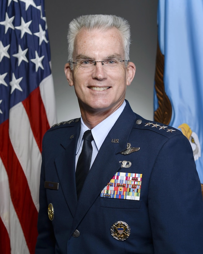Air Force Gen. Paul J. Selva, poses for his official portrait at the Pentagon, July 31, 2015. He is the 10th vice chairman of the Joint Chiefs of Staff. In this capacity, he is a member of the Joint Chiefs of Staff and the nation's second-highest ranking military officer. Air Force photo by Scott M. Ash