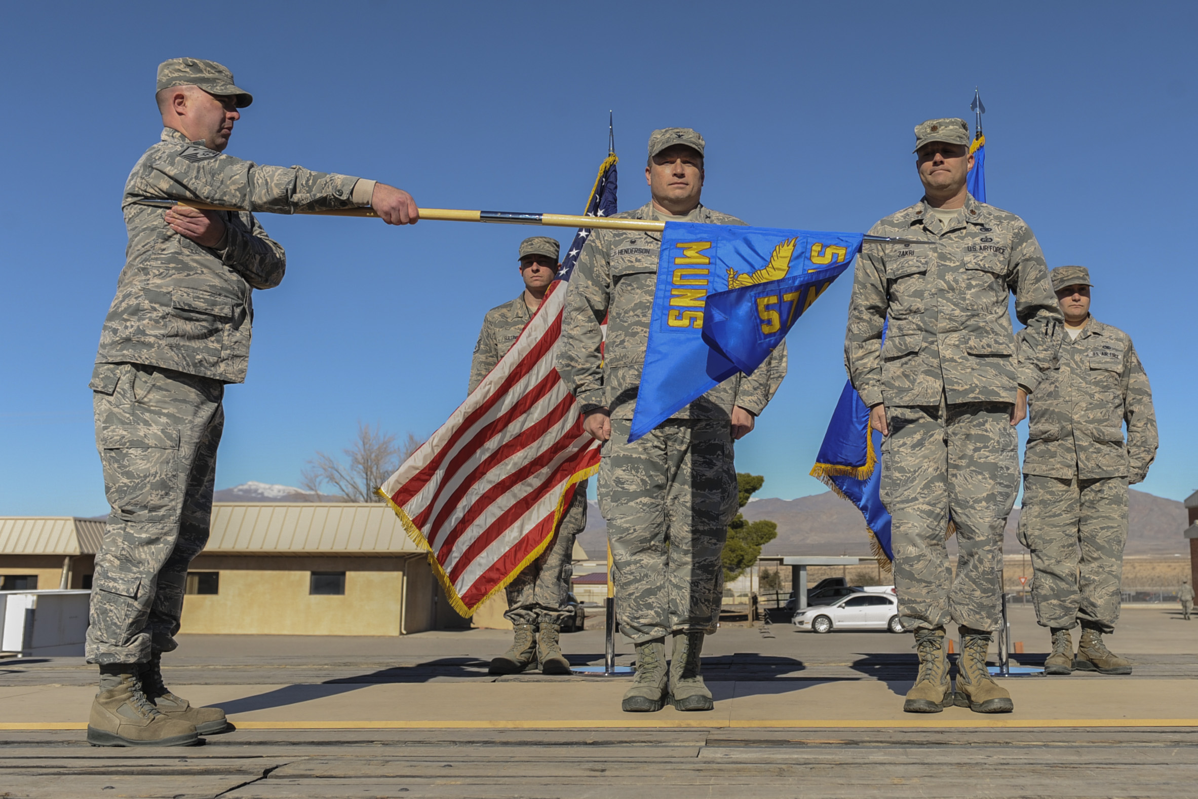 57th MXS redesignated as 57th MUNS > Nellis Air Force Base