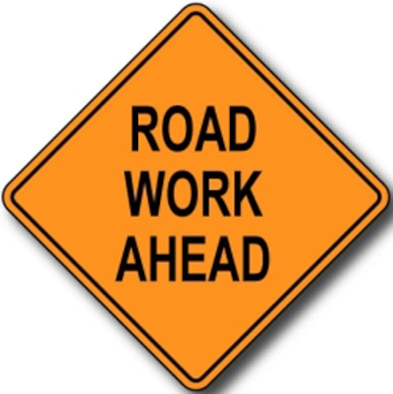 Road construction continues on Peterson Air Force Base in Colorado. (Courtesy graphic)