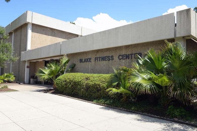Blake Fitness Center is located in Bldg. 1201 and offers an array of programs to fit your fitness convenience. (U.S. Air Force photo by 2nd Lt. Teddy Barbosa)