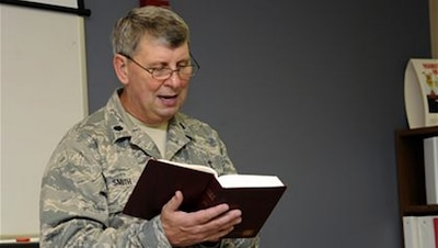 The AFCCC educates and trains Chaplain Corps personnel to provide spiritual care and advise leadership so Airmen and their families have opportunities to the free exercise of their religion and are spiritually fit to fly, fight and win.