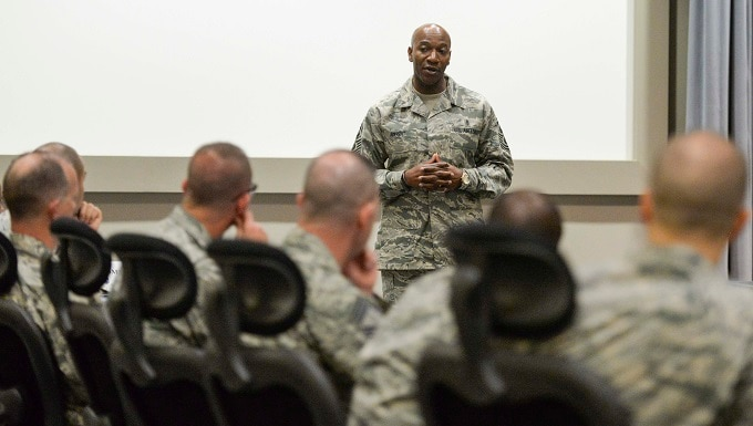 The CLC is the capstone and pinnacle level of Enlisted Professional Military Education. The USAF CLC mission is to provide Chief Master Sergeants the education to bridge operational-to-strategic perspectives of the Air Force.