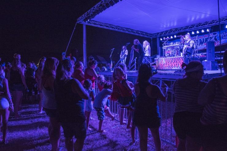 Outdoor concert