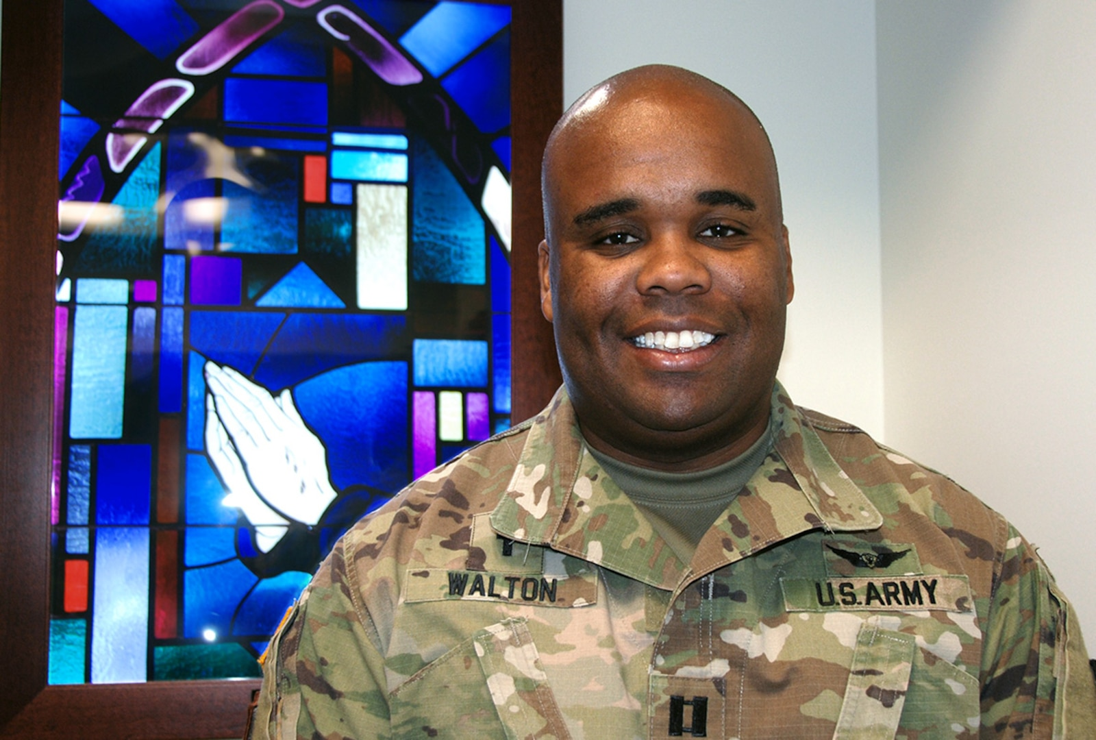 Army Capt. Demetrius Walton began his Army career as an enlisted soldier, in the intelligence field.