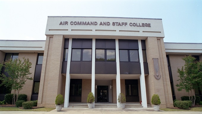 ACSC is the Air Force's intermediate level officer PME. Each year it has over 600 majors and major-equivalent civilians from the Air Force, other U.S. services, U.S. government agencies, and over 70 other nations.