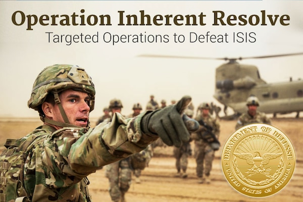 Operation Inherent Resolve. DoD graphic