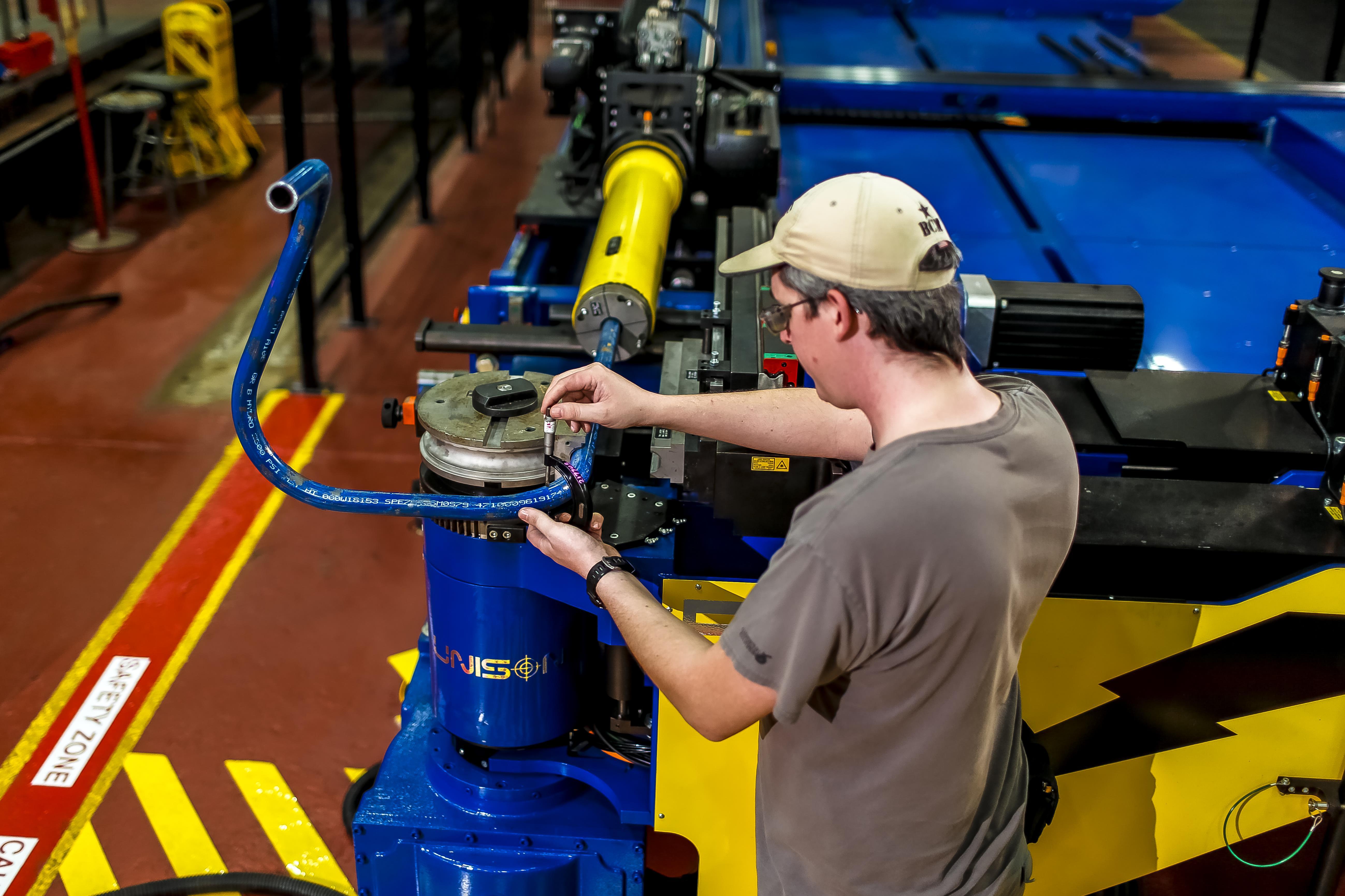Norfolk Naval Shipyard S New Pipe Bending Machine Saves