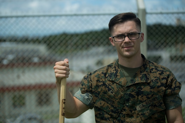 U.S. Marine Cpl. Christopher Ehms was one of the five Marines to assist a local Japanese woman on his way down Mount Fuji, Japan, July 3, 2017. The woman, Oda Moe, was found lying on the ground, hyperventilating and struggling to breathe when the Marines came to her assistance. As the other four Marines created a makeshift stretcher to carry her down the last two miles of the descent, Ehms ran ahead to alert medical personnel. Ehms, a 22 year old, Rochester, Michigan  native, is a ground radio and miniature repairman with Electronics Maintenance Company, 3d Maintenance Battalion, Combat Logistics Regiment 35, 3d Marine Logistics Group, III Marine Expeditionary Force.