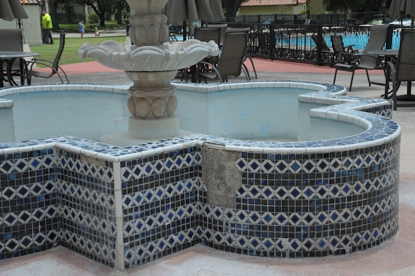 A repair and renovation project is on the horizon for the patio at Joint Base San Antonio-Randolph's Parr Club, one of the original structures at the JBSA location. The $900,000 project, which is pending final approval of construction documents by the 502nd Civil Engineer Squadron, will address damage to the patio caused by age and the elements by preventing the further degradation of the patio's foundation and allowing for proper drainage away from the foundation.