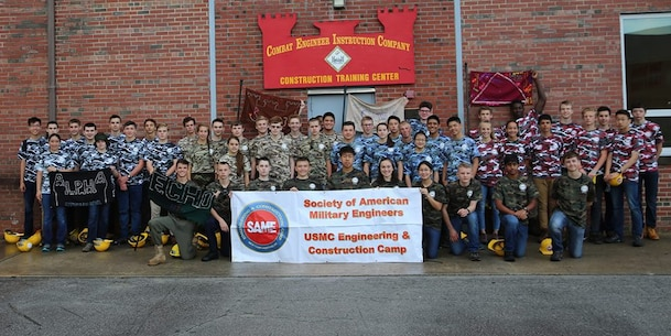 From June 17 to June 21, 2017 high school students from the Society of American Military Engineer (SAME) participate in engineer themed events at Courthouse Bay, Camp Lejeune, N.C.