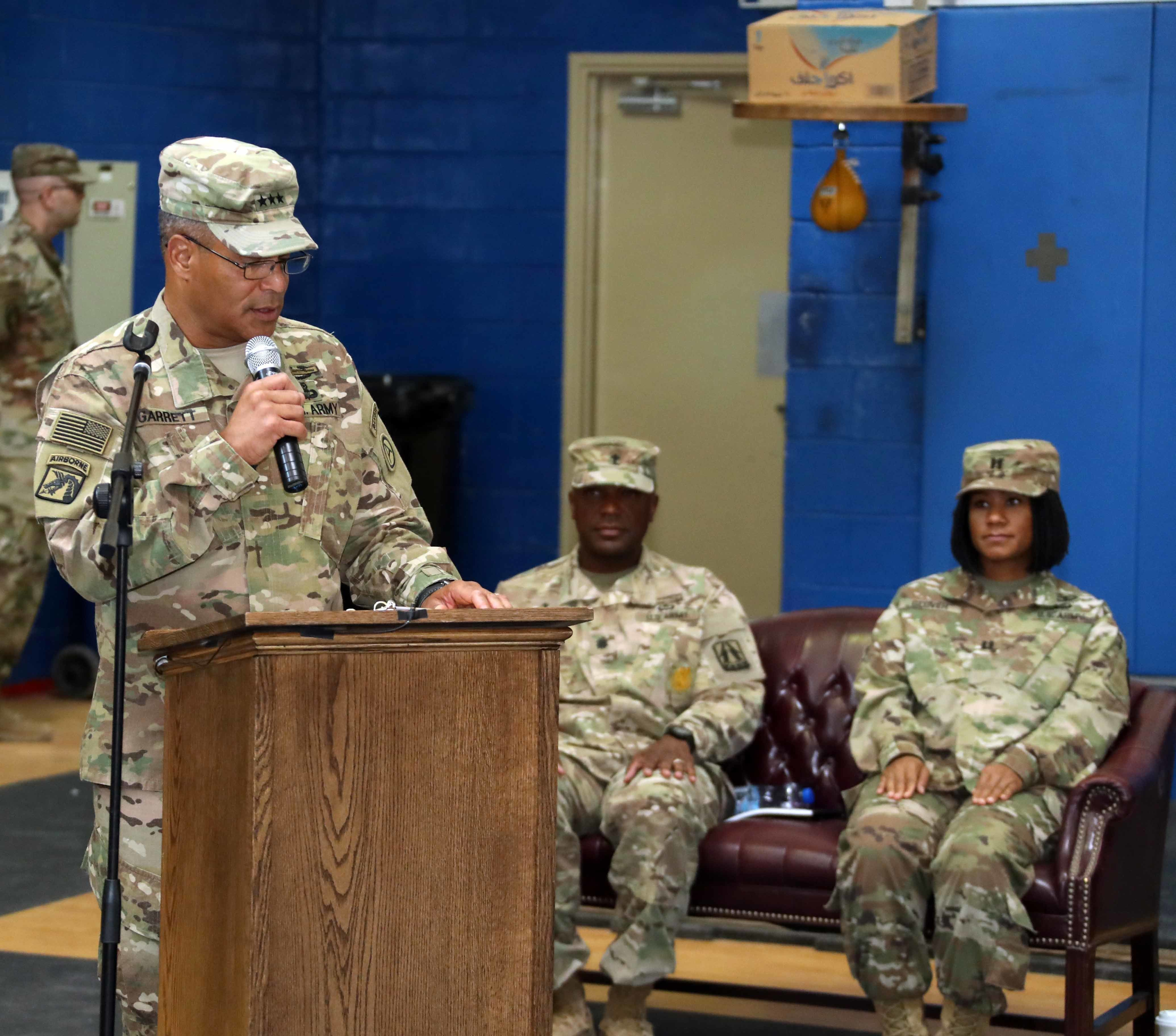 Brig. Gen. Phillips Takes 'Ready Lightning' Command > U.S