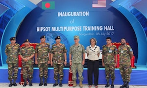 Commander of U.S. Pacific Command visits Bangladesh, July 8, 2017.  This is Harris' first visit to Bangladesh as PACOM commander. During the visit he met with counterparts and government officials for discussions on military cooperation and regional security initiatives in the Indo-Asia Pacific.