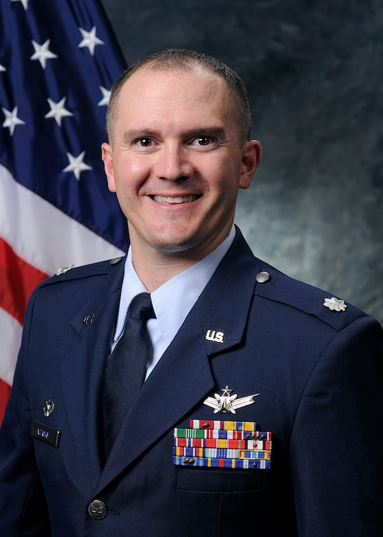 Lt. Col. Charlie Norsky, 2nd Space Operations Squadron commander. (Courtesy photo)