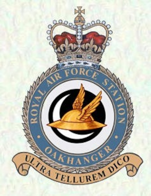 The 23rd Space Operations Squadron maintains a small presence at Royal Air Force Station Oakhanger, upholding support for the Air Force Satellite Control Network and other entities. Oakhanger is the only Schriever Geographically Separated Unit and AFSCN site operated primarily by non-U.S. personnel. (Courtesy graphic)