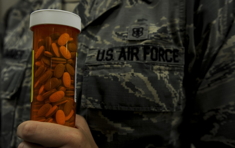 The 1st Special Operations Medical Group pharmacy provides medication needed by Air Commandos, families and retirees at Hurlburt Field, Fla., July 11, 2017. The 1st SOMDG pharmacy provides readily available resources that enable resilient and healthy Air Commandos to conduct special operations any time, any place. (U.S. Air Force photo by Airman 1st Class Dennis Spain)