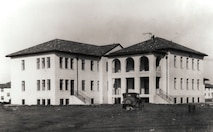 An archival photo shows the future CAP National Headquarters building on Jan. 2, 1932, just after it opened as the Maxwell Air Force Base hospital. (courtesy photo)