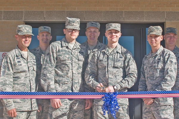The 502d Civil Engineering Squadron conducted a Ribbon Cutting Ceremony for a 144 person dormitory at JBSA Lackland AFB on February 21, 2017. The $18 million dollar facility opened after a 30 month construction in September 2016 when active duty airman of the 24th AF, 25th AF, and the 502 Air Base Wing began moving in.