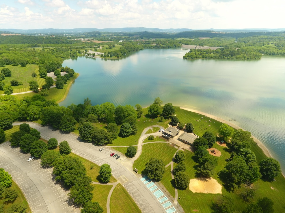 Blue Marsh Lake was constructed by the U.S. Army Corps of Engineers in 1978 and has prevented more than $90 million in flood damages. The recreation program at the project attracts almost 900,000 visitors a year.