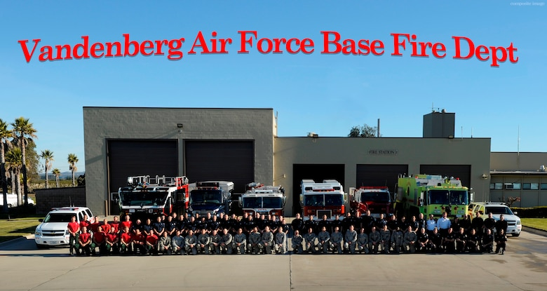 Vandenberg AFB Fire department group photo (contributed/composite image)