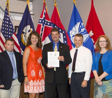 Representatives from the U.S. Fish and Wildlife Service and the U.S. Army Corps of Engineers Mobile District, Nashville District, Memphis District, and Vicksburg District signed a Memorandum of Agreement, June 28, to implement Standard Local Operating Procedures for Endangered Species (SLOPES) covering 44 species statewide in Mississippi.