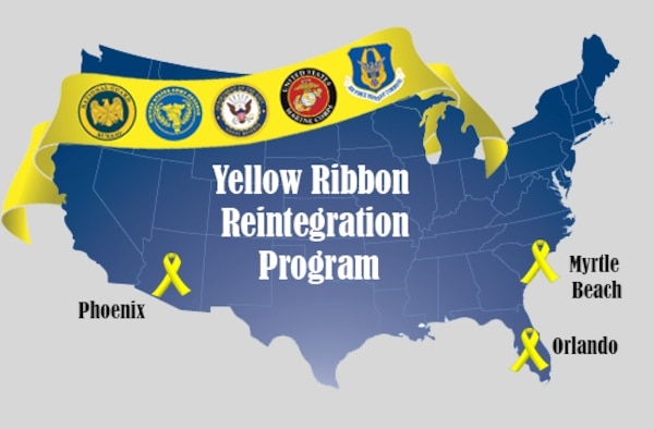 Members of the YRRP program can travel to Phoenix, Arizona; Myrtle Beach, South Carolina; and Orlando, Florida. (U.S. Air Force Graphic/Tech. Sgt. Kat Justen)