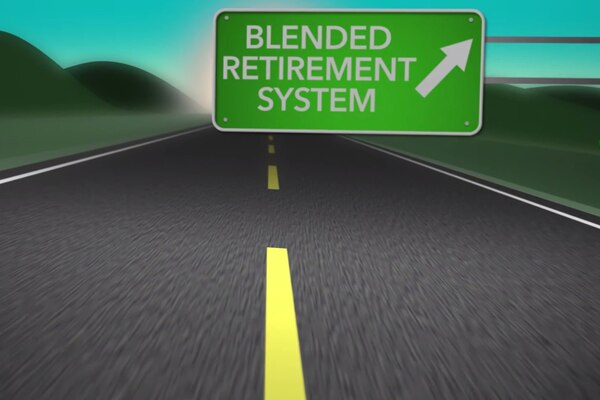 """A new retirement system goes into effect on Jan. 1, 2018. See how the legacy """"high-3"""" and the new Blended Retirement System compare in your first four years of service."""