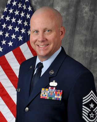 Chief Master Sgt. Paul J. Stewart is the Command Chief Master Sergeant for the 445th Airlift Wing, Wright-Patterson Air Force Base, Ohio.