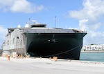KEY WEST, Fla. (July 3, 2017) USNS Spearhead (T-EPF 1) and its embarked group of Sailors and civilian mariners pulled into Naval Air Station Key West for its first port call of Southern Partnership Station-Expeditionary Fast Transport 2017. SPS-EPF 17 is a U.S. Navy deployment, executed by U.S. Naval Forces Southern Command/U.S. 4th Fleet, focused on subject matter expert exchanges with partner nation militaries and security forces in Central and South America.  (U.S. Navy photo by Mass Communication Specialist 1st Class Jeremy Starr/Released)