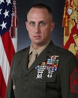 Sergeant Major Jacob M. Reiff., 10th Marine Regiment sergeant major