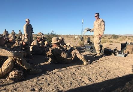 Echo Company training exercise at the National Training Center, Fort Irwin, Calif.