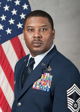 Chief Master Sgt. Derrick Harrison, 621st Air Mobility Advisory Group, shares some thoughts on the importance of balancing work with personal commitments. (U.S. Air Force photo)