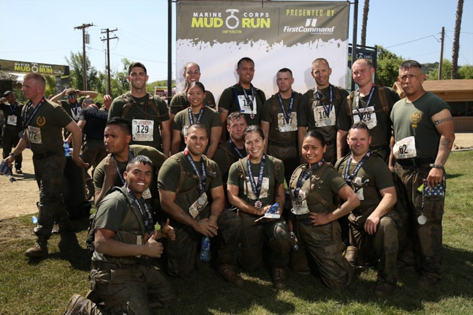 Marines with 3d Assault Amphibian Battalion participated in the 2017 Marine Corps Mud Run at Camp Pendleton, Calif.