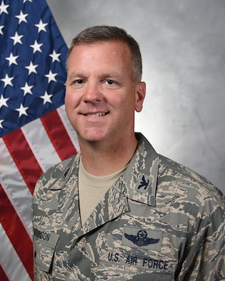 Col. Mark S. Robinson is the vice commander of the 380th Air Expeditionary Wing.