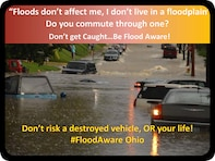 """Each year, more deaths occur due to flooding than from any other weather related hazard.  Many of these deaths are related to vehicles driving through floodwaters or people walking closely to or in the actual flood.  People underestimate the force and power of water.   According to the National Weather Service (NWS), flash floods are the most dangerous kind of floods as they combine the destructive power of a flood with incredible speed and unpredictability. Flash flooding by definition is """"rapidly rising and MOVING water"""". The force of moving water frequently damages roadbeds, sometimes to the point of collapse.  So many unnecessary vehicular flood related deaths occur as a result of motorists driving across flooded roads."""