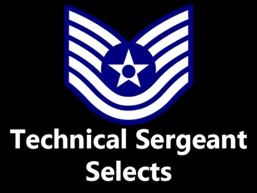 Air Force officials selected 119 Team Aviano staff sergeants for promotion to technical sergeant.