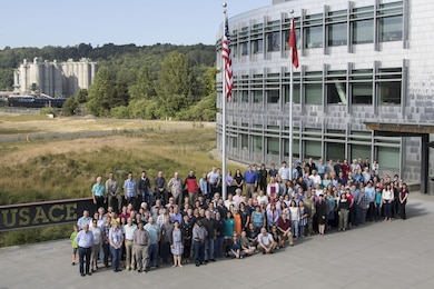 Seattle District employees pose for a group photo June 29, 2017.