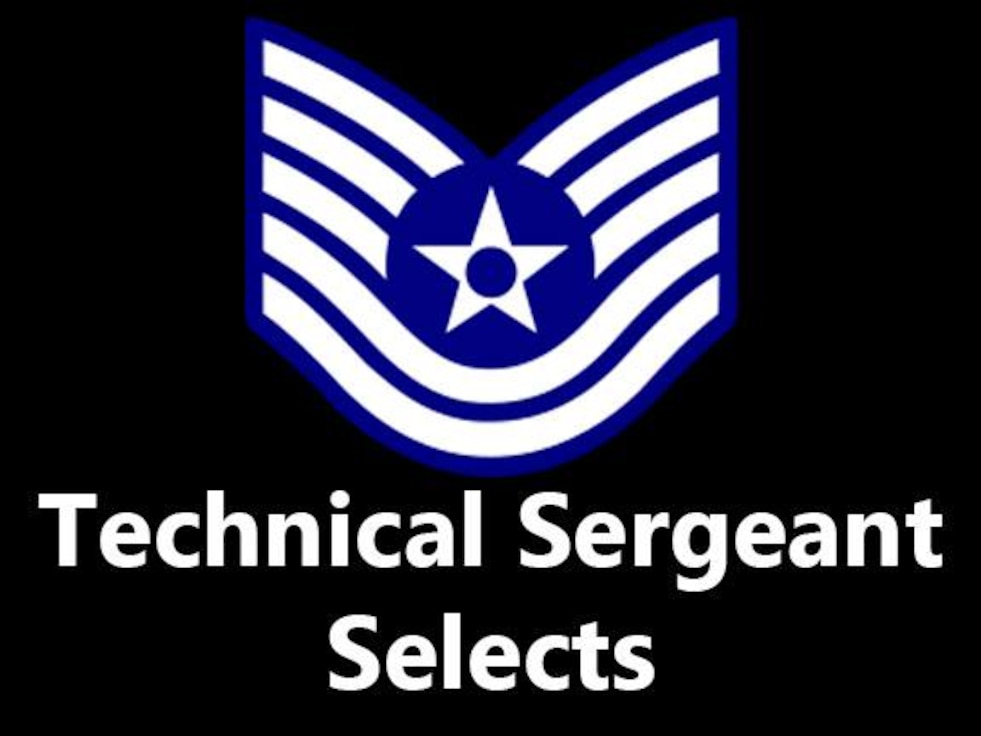 Air Force officials selected 35 NASIC staff sergeants for promotion to technical sergeant.