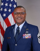 Command Chief Master Sgt. Von R. Burns official photo