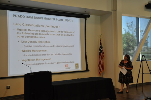 Wendy Loeffler, a project manager with RECON Environmental, provides an overview of the Master Plan's objectives and a description of the types of input study managers are seeking.