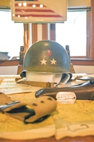 Artifacts that belong to Maj. Gen. Terry Allen Sr., commander of the 1st Infantry Division during the invasion of North Africa and Sicily in World War II, will be part of a 2,800 square foot exhibit opening Aug. 25 at the Flint Hills Discovery Center in Manhattan, Kansas.