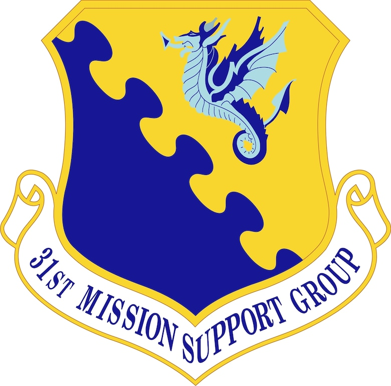 31st Mission Support Group Sheild