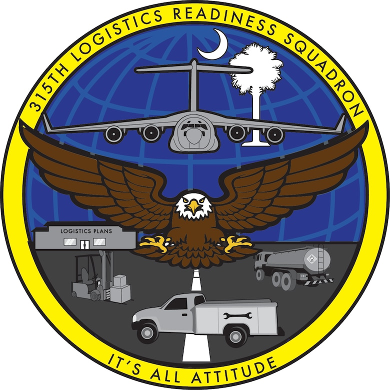 315th Logistics Readiness Squadron patch.