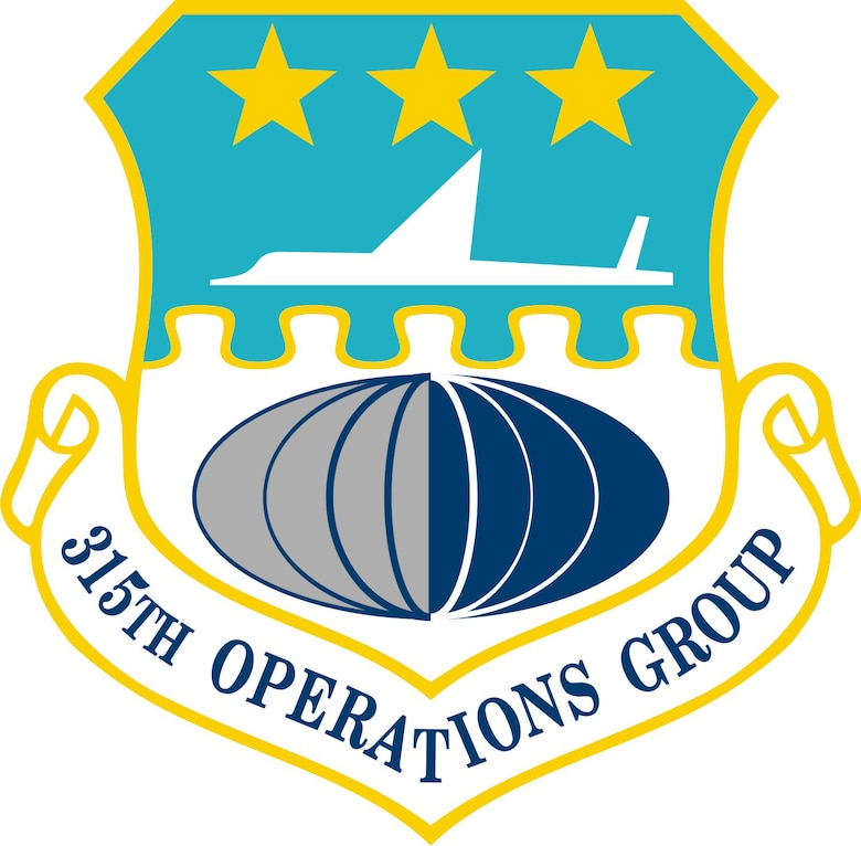 315th Operations Group patch
