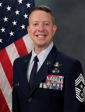 Chief Master Sergeant Brendan I. Criswell is the Command
