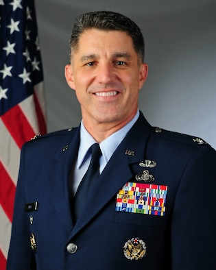 Colonel Clinton A. Ross Official Photo