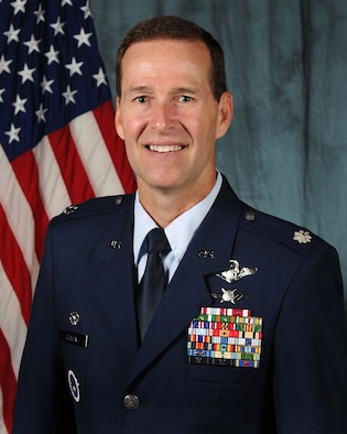 Lt. Col. Ray Bowen, Air Mobility Command, retires this year after a career with both the Navy and Air Force.
