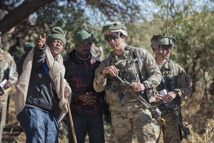 Soldiers Learn Critical Lessons Through Exercises in African Bush