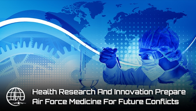 The Air Force Medical Service conducts extensive health research to stay on the cutting edge of health innovation and technology, delivering the highest quality care. As the Air Force prepares to execute future missions, the AFMS research focus must also shift to support new environments and requirements.