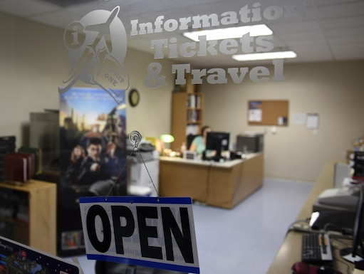 The Information, Tickets and Travel office in the Walters Community Support Center on Little Rock Air Force Base, Ark., provides discounted tickets and travel options for local and worldwide attractions. Arkansas and the surrounding regions have a variety of scenic destinations for service members to visit. (U.S. Air Force photo by Airman 1st Class Kevin Sommer Giron)